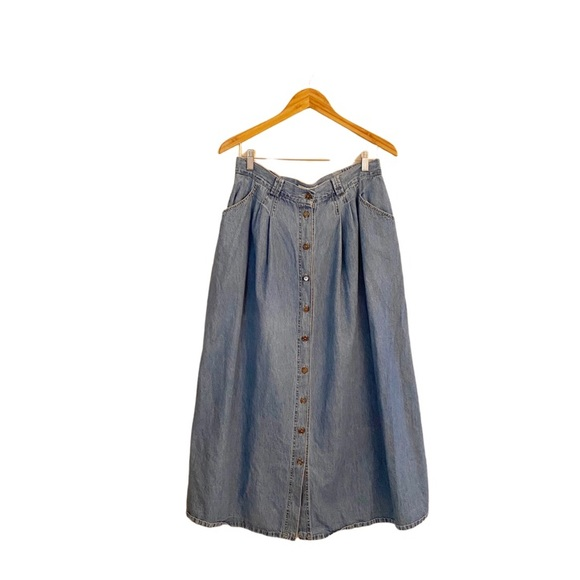 VINTAGE - SEASONS SPORT JEAN SKIRT